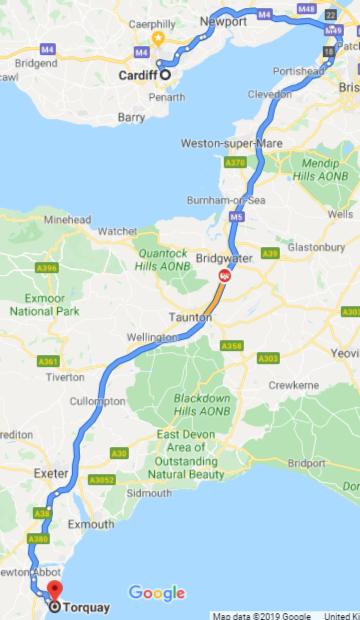 Cardiff-Torquay